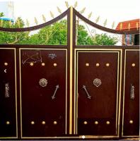 تولید و ساخت انواع درب آهنی باغ،باغی و ویلایی