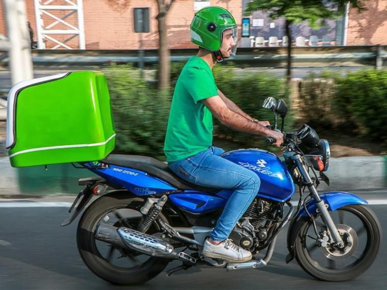 استخدام موتورسوار با بیمه در شرکت معتبر