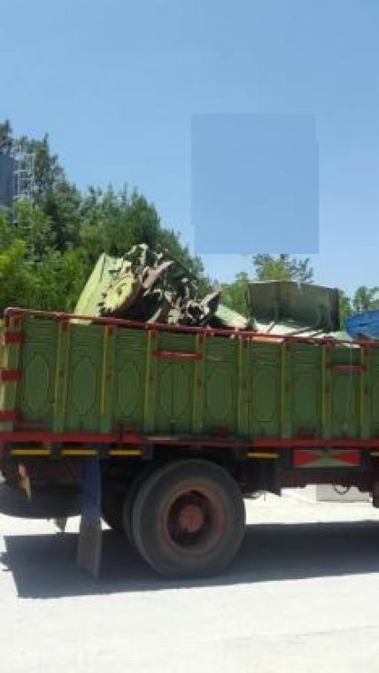 خریدار ماشینهای سنگین سوخته وتصادوفی سرتاسر ایران
